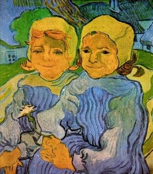 Vincent Van Gogh - Two Little Girls