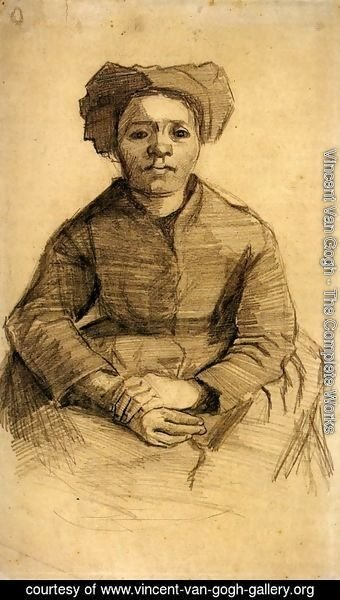 Vincent Van Gogh - Seated Woman 2