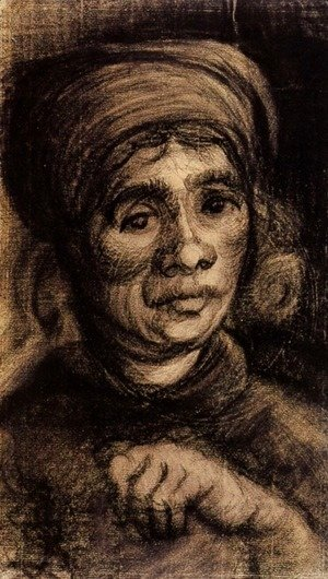 Vincent Van Gogh - Head of a Woman 8