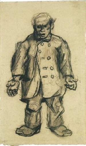 Vincent Van Gogh - Stocky Man 2