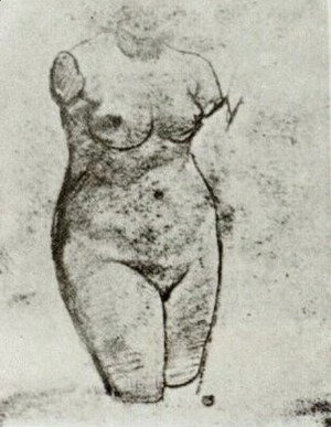 Plaster Torso of a Woman