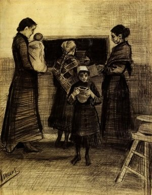 Vincent Van Gogh - Soup Distribution in a Public Soup Kitchen