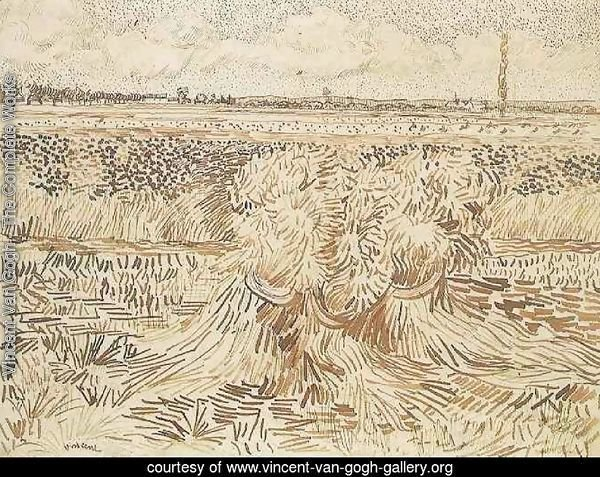 Wheat Field with Sheaves 2