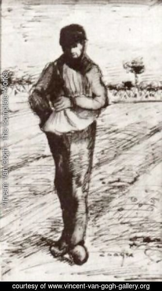 Vincent Van Gogh - Sower with Hand in Sack 2