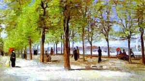 Vincent Van Gogh - Terrace in the Luxembourg Garden