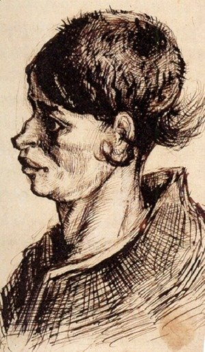 Vincent Van Gogh - Head of a Woman 11