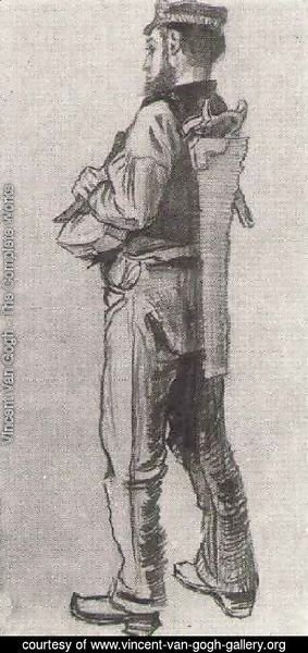 Vincent Van Gogh - Carpenter, Seen from the Back