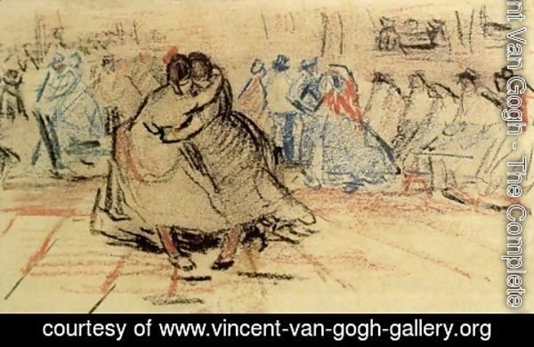 Vincent Van Gogh - Couple Dancing
