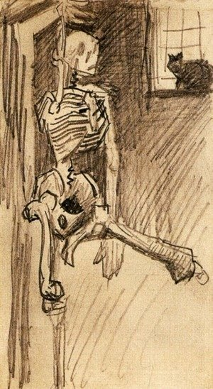 Vincent Van Gogh - Skeleton