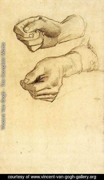 Vincent Van Gogh - Two Hands 3