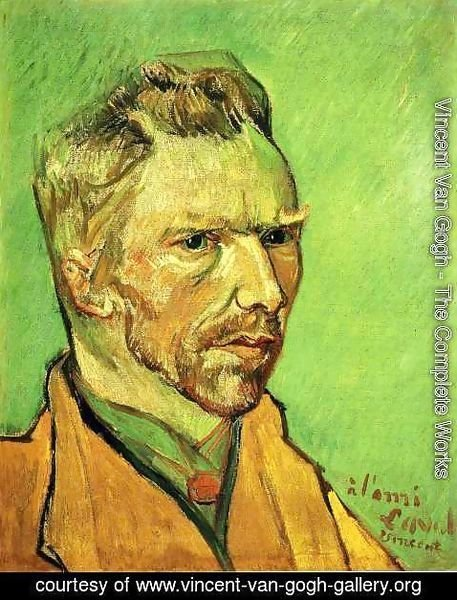 Vincent Van Gogh - Self Portrait 7
