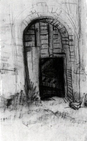 Vincent Van Gogh - Entrance to the Old Tower