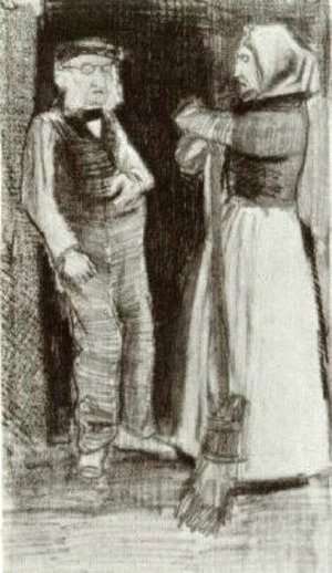 Orphan Man Talking with Woman Sien