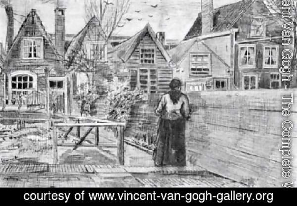 Vincent Van Gogh - Sien's Mother's House