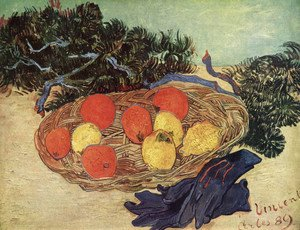 Vincent Van Gogh - Still Life with Oranges and Lemons with Blue Gloves