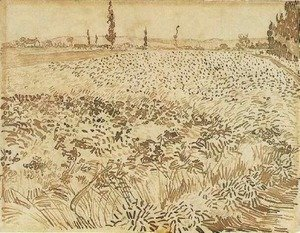 Vincent Van Gogh - Wheat Field 2