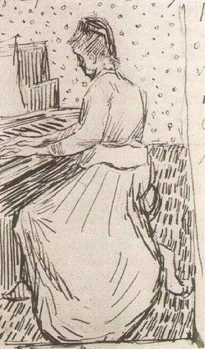 Vincent Van Gogh - Marguerite Gachet at the Piano 2