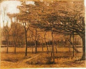 Vincent Van Gogh - Landscape with Trees