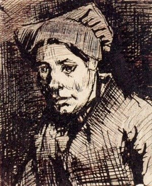Vincent Van Gogh - Head of a Woman 13