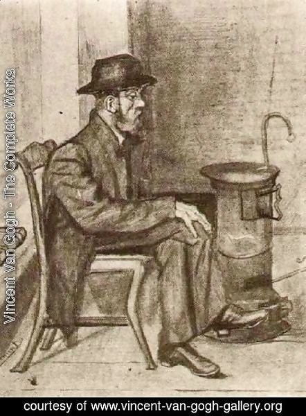 Vincent Van Gogh - Old Man Warming Himself