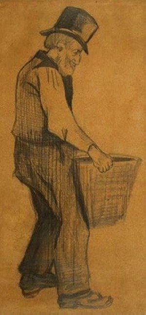 Vincent Van Gogh - Man Carrying Peat