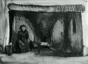 Vincent Van Gogh - Woman by the Fireplace