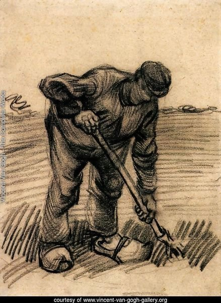 Peasant Lifting Potatoes 2
