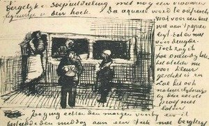 Vincent Van Gogh - The Public Soup Kitchen
