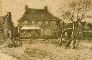 Vincent Van Gogh - Vicarage at Nuenen 2