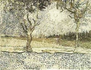 Vincent Van Gogh - The Road to Tarascon 2