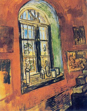 Window of Vincent's Studio at the Asylum