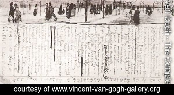 Vincent Van Gogh - Restaurant Menu