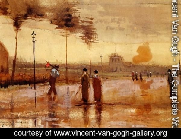 Vincent Van Gogh - A Sunday in Eindhoven