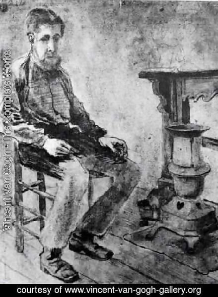 Vincent Van Gogh - Man Sitting by the Stove The Pauper