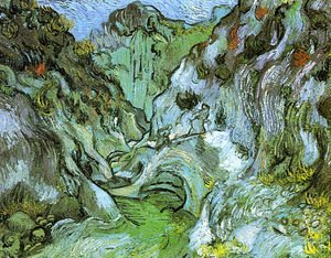 Vincent Van Gogh - The gully Peiroulets