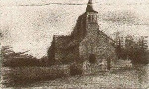 Vincent Van Gogh - St. Martin's Church at Tongelre