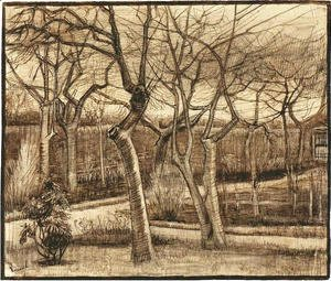 Vincent Van Gogh - The Vicarage Garden
