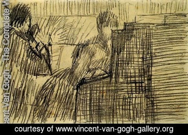 Vincent Van Gogh - Woman Pianist and a Violinist