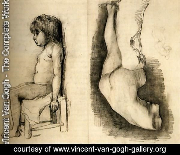 Vincent Van Gogh - Seated Girl and Venus