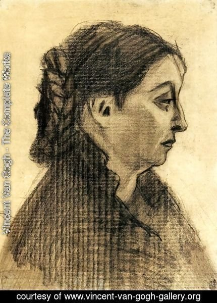 Vincent Van Gogh - Head of a Woman 15