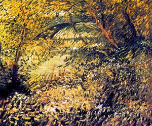 Vincent Van Gogh - Banks of the Seine in the spring