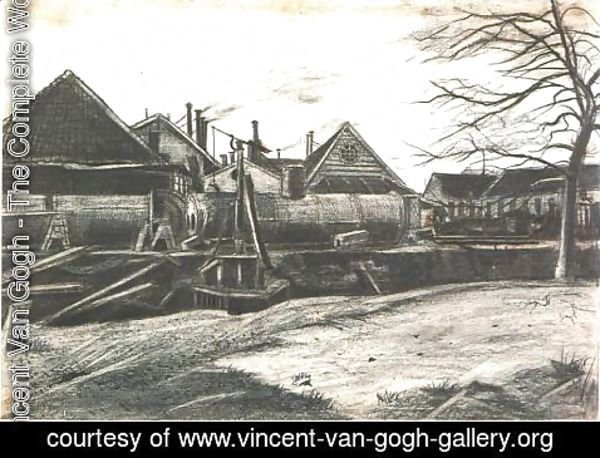 Vincent Van Gogh - Factory