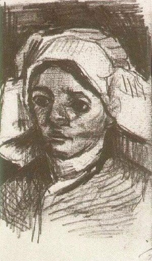 Vincent Van Gogh - Peasant Woman, Head 11