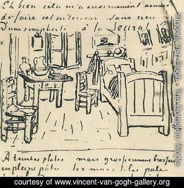 Vincent Van Gogh - Vincent's Bedroom