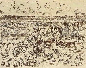 Wheat Field with Sheaves 3
