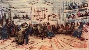 Vincent Van Gogh - Dance-hall
