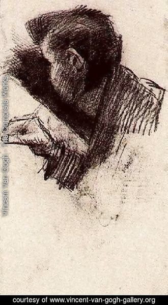 Vincent Van Gogh - Man, Drawing or Writing