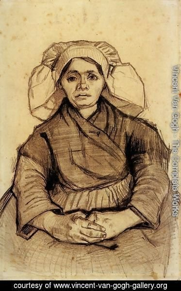 Vincent Van Gogh - Seated Woman 4