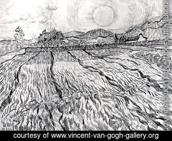 Vincent Van Gogh - Enclosed Field behind Saint-Paul Hospital