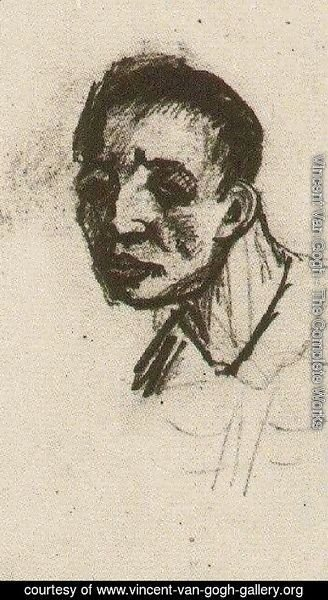 Vincent Van Gogh - Head of a Man, Bareheaded 2